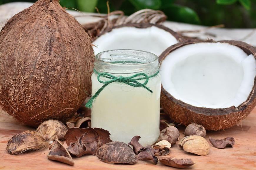 aceite de coco para elaborar jabon natural