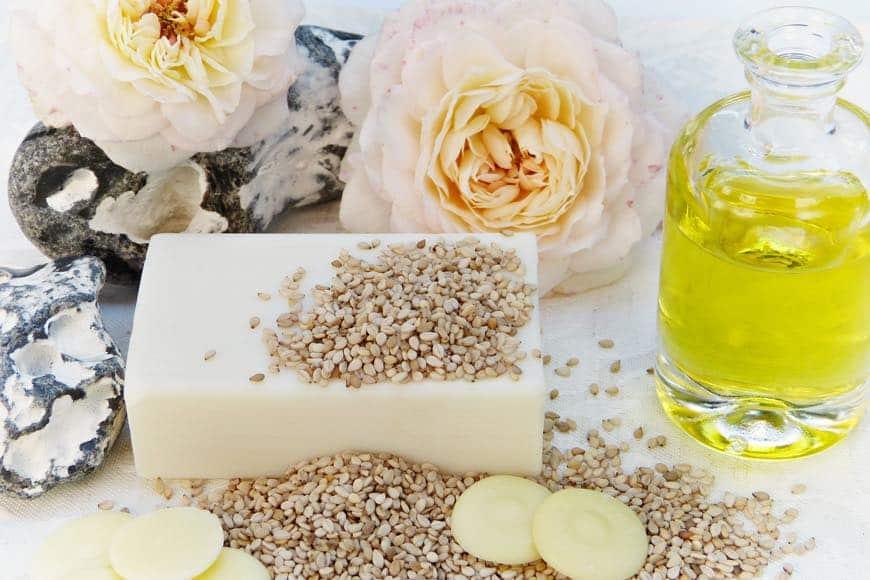 aceites vegetales para hacer jabon natural