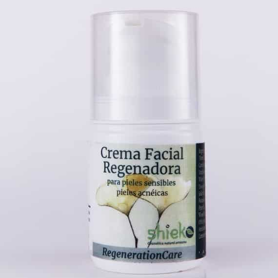 Crema Facial Pieles sensibles con acne