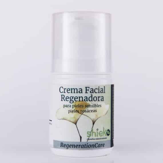 Crema facial pieles sensibles rosaceas