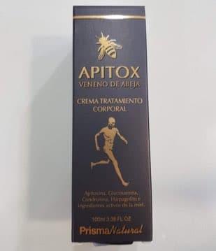 apitox crema con veneno de abeja dolor muscular