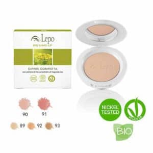 colorete en polvo compacto lepo natural