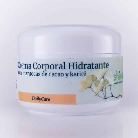 crema corporal hidratante natural de crema de manteca y karite