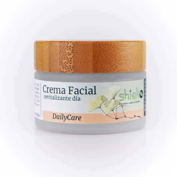 crema facial natural revitalizante de dia