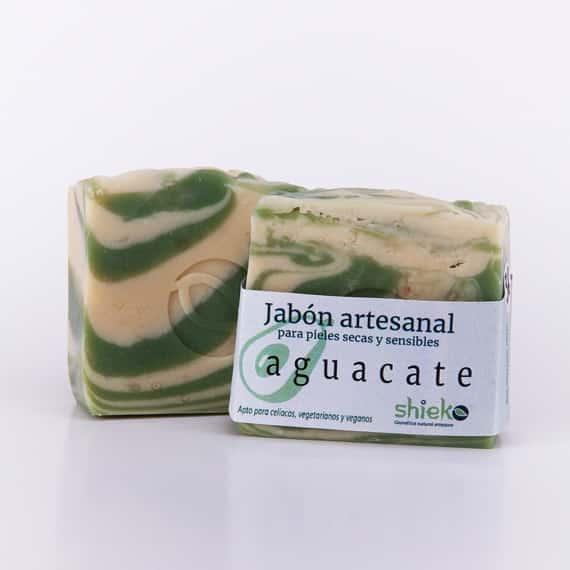 jabon artesanal y natural de aguacate