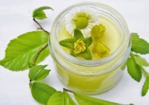 te verde beneficios piel